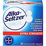 Alka-seltzer Extra Strength, 24-Count