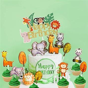 Amazon.com: Juego de 25 adornos para cupcakes con diseño de ...
