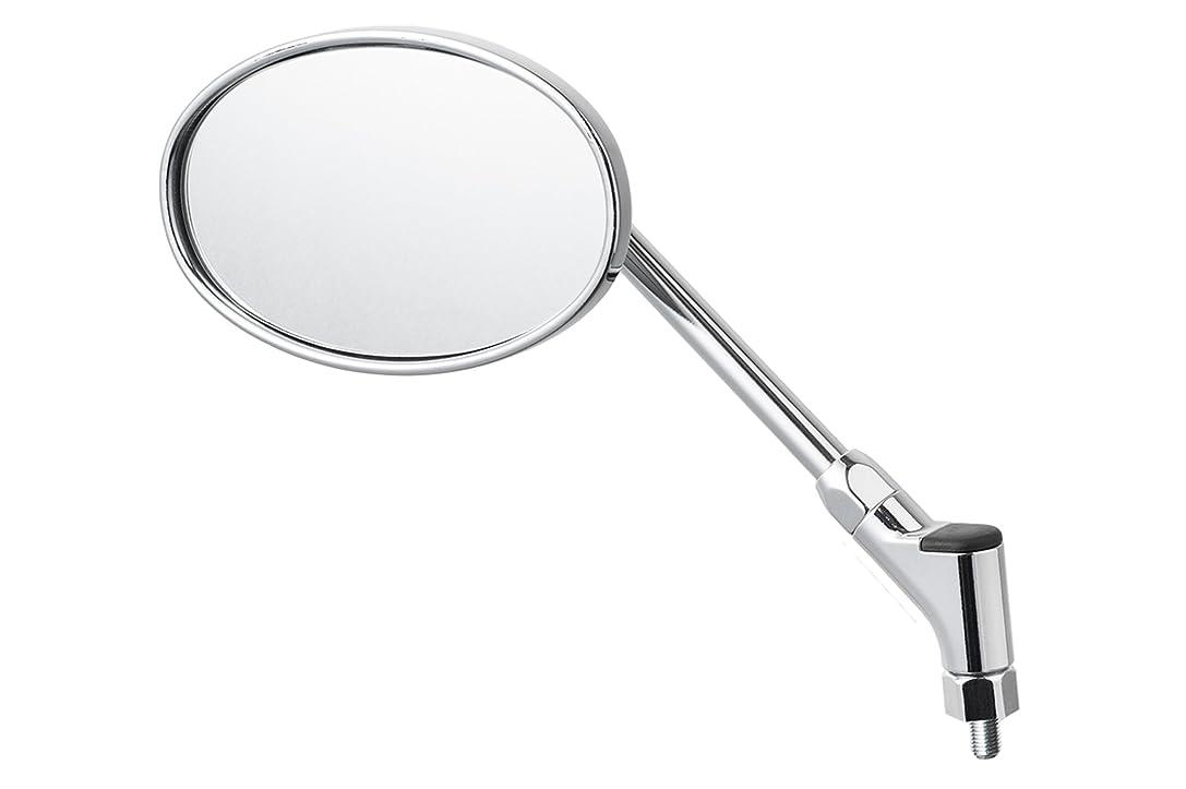 回転する皿素晴らしきタナックス バイクミラー ナポレオン リゼットミラー ピアノブラック ブルー鏡 左右共通 10mm正ネジ AMS-104-10