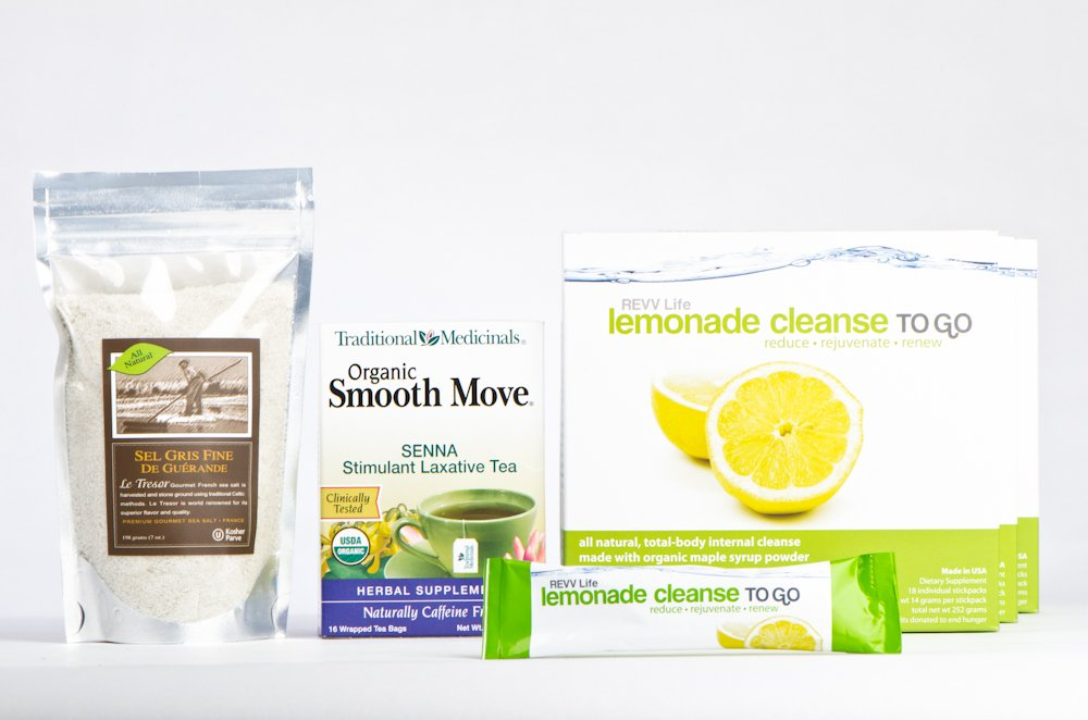 The Complete Convenient Master Cleanse / Lemonade Cleanse To Go Kit