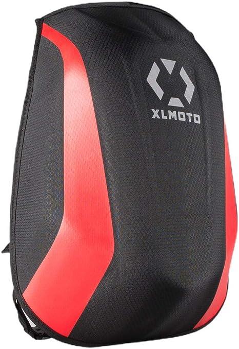 Xlmoto Slipstream Striped Motorrad Rucksack Wasserabweisend 24 L Rot Auto