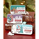 "Set of 3 Novelty ""Character Poop"" Mint Tins"