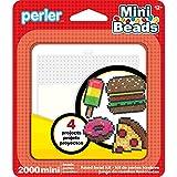 Perler Beads 80-53009 Mini Beads Food Activity Kit