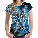 doginthehole Horse Women Shirt Animal Printed Tee Casual Short Sleeve T-Shirt Tops