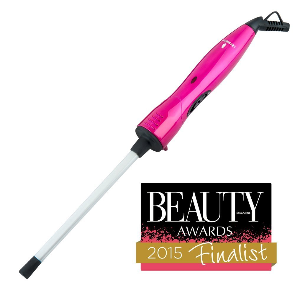Lee Stafford The Original CHoPstick STYLER Ceramic Curling Wand - Get Cute Corkscrew Curls Straight From the Catwalk with This Professional Quality Clipless Curling Iron product image