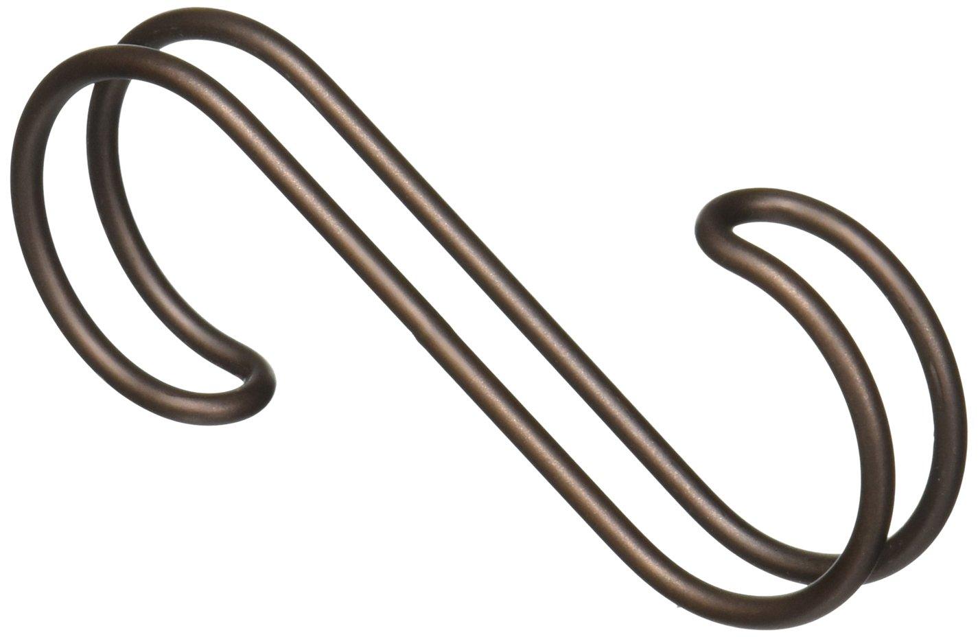 Handbags Closet Accessory Organizer for Scarves InterDesign Classico Over the Rod Pashminas Bronze Loop