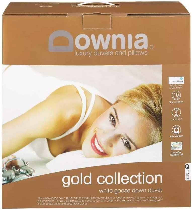 Downia Gold Collection White Goose Down Quilts