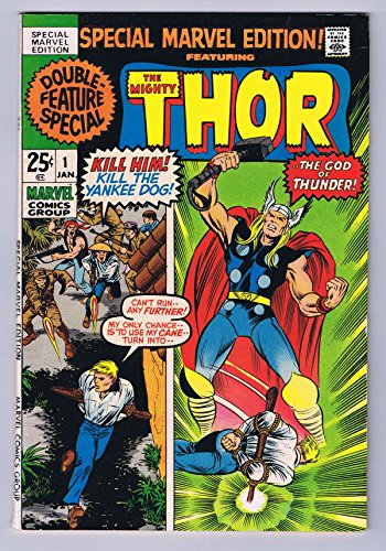 Special Marvel Edition #1 Featuring Thor Bronze Age 1971 Marvel Comics Complete