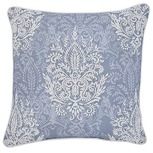 Croscill Zoelle Decorative Pillow, Blue Croscill Blue Decorative Pillow