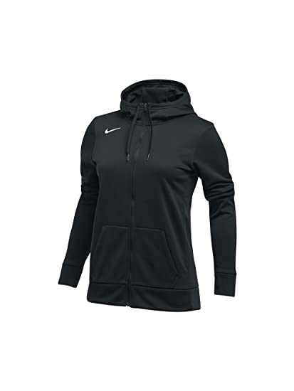 Nike Women s Thrma All Time Full Zip Hoodie at Amazon Women s ... ddb27001b