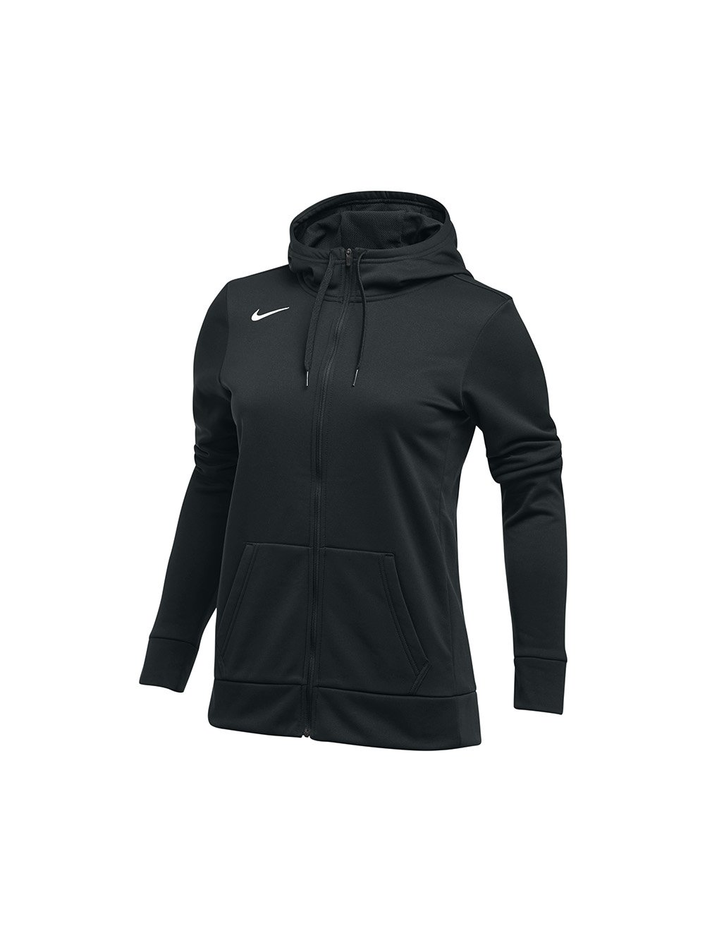 Women's Nike Thrma All Time Full Zip Hoodie, Black, Small