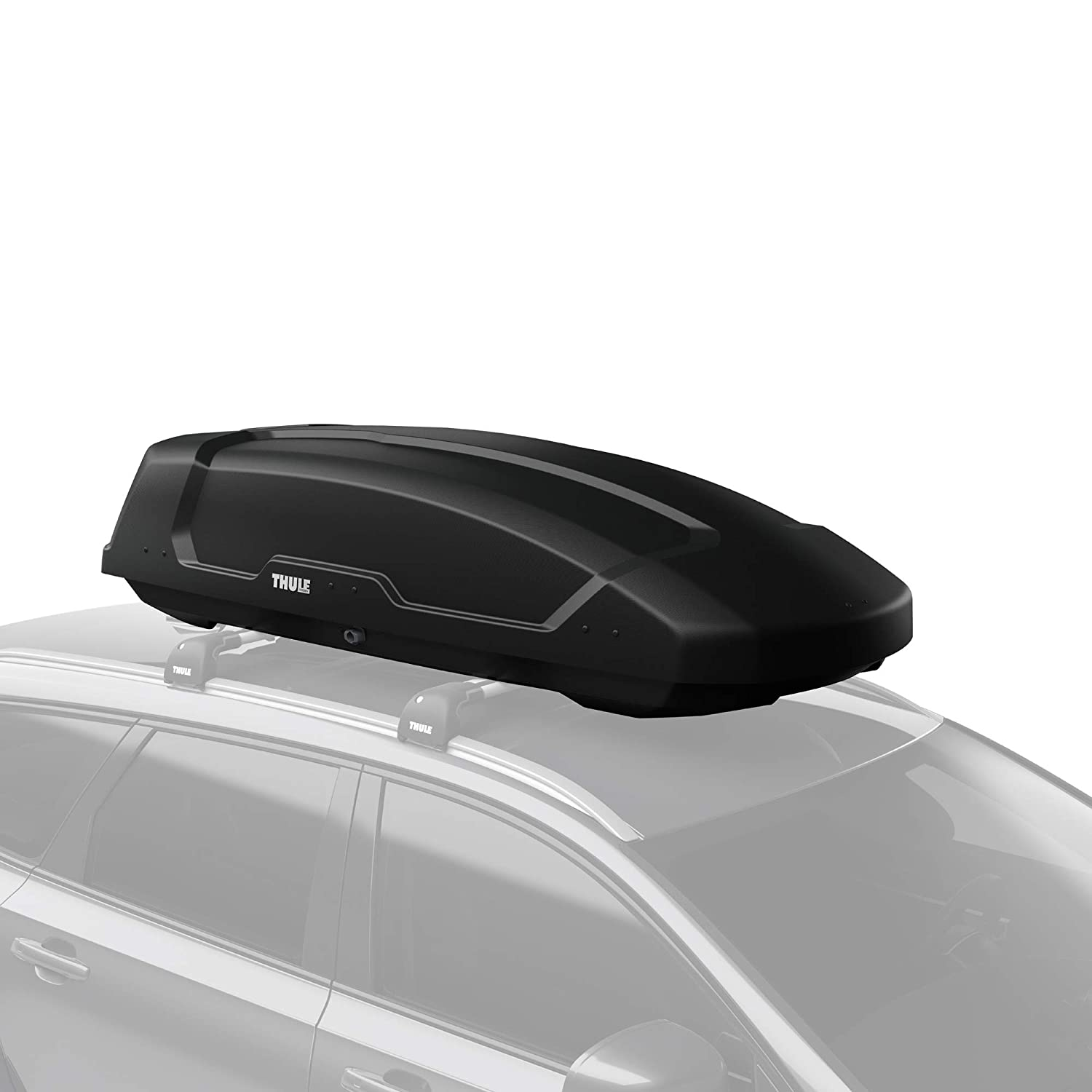 Thule Force Xt Rooftop Cargo Box Large Black Industrial Scientific