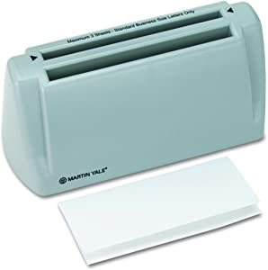 "Martin Yale P6200 Automatic Desktop Folder, Folds 1-3 Sheets of 20-24 Pound Bond in Seconds, Folds up To 30 Letters a Minute, Up To 1800 Sheets/hr, for Use with 8 1/2"" x 11"" Paper, Accepts Stapled Sets"