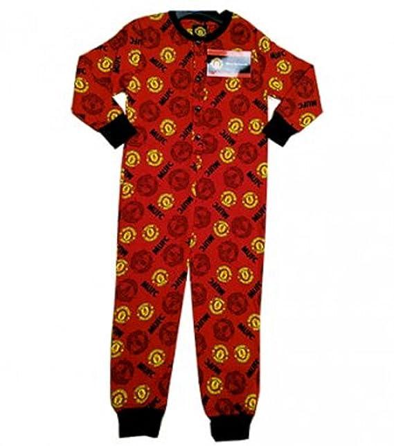 Manchester United de niño producto oficial de Unisex/ropa de descanso para niñas rojo mamelucos del Manchester United: Amazon.es: Ropa y accesorios