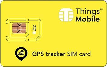 Carte Sim Pour Traceur Gps Gsm 2g 3g 4g Ideale Pour Les
