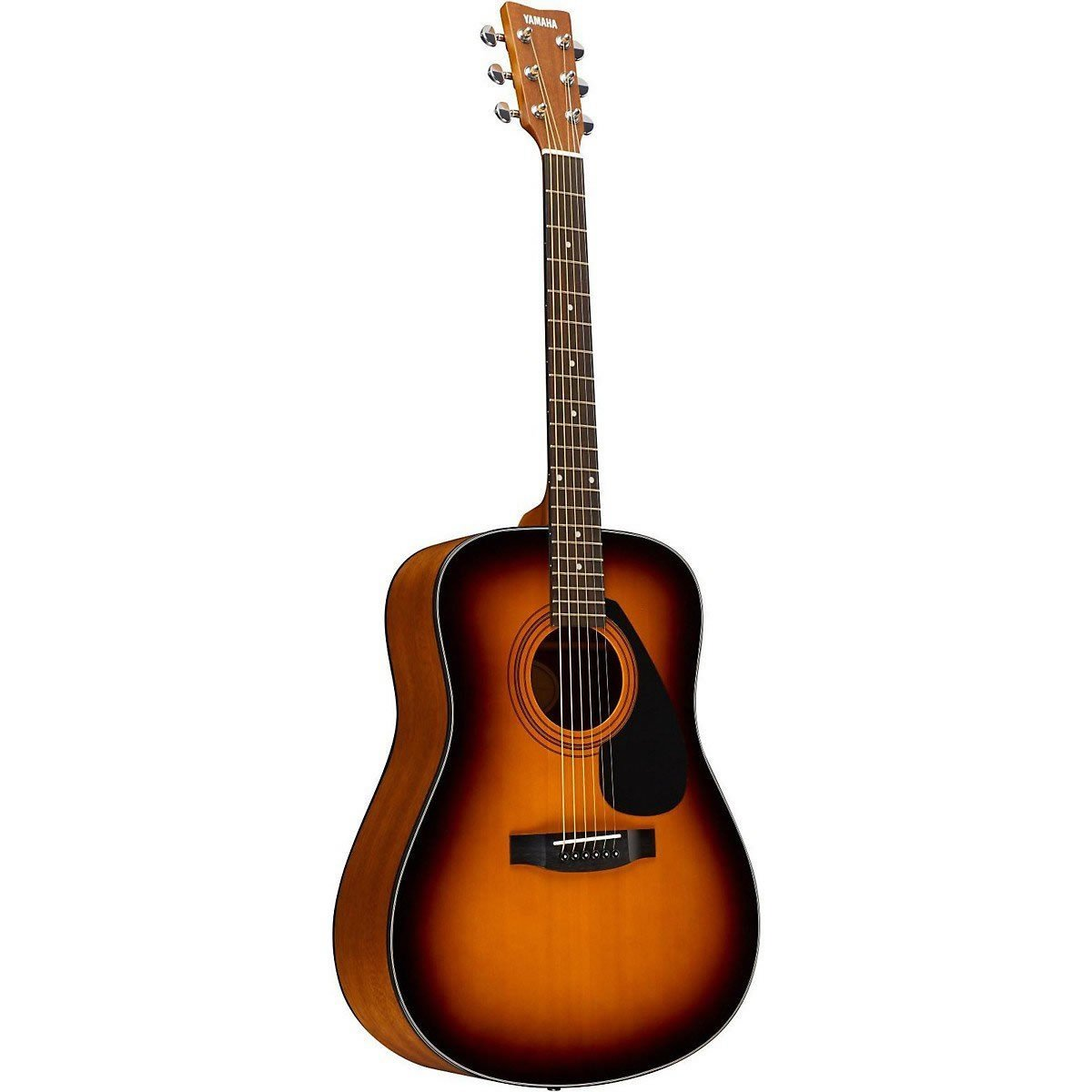 Amazon.com: Yamaha GigMaker Standard Acoustic Guitar Package (Tobacco Sunburst) with FREE Bonus Guitar Stand & Polishing Cloth: Musical Instruments