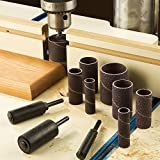 12 Piece Long Drum Sander Kit and Replacement Sleeves