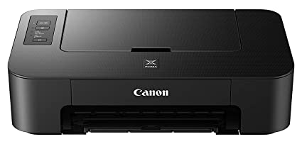 Canon PIXMA TS205 A4 Colour Inkjet Printer + Extra Set Of Original  PG-545/CL-546 Canon Inks (B,C,M,Y 180 Pages)