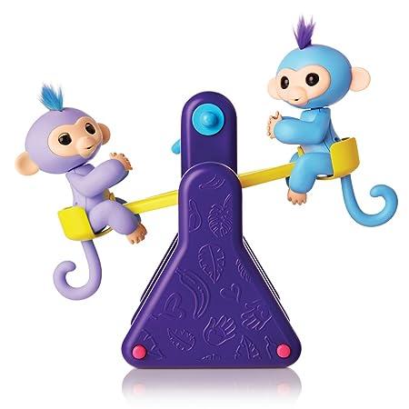 Todo Azul Infantil 8 Pulgadas Nunchakus de Espuma con Cadena