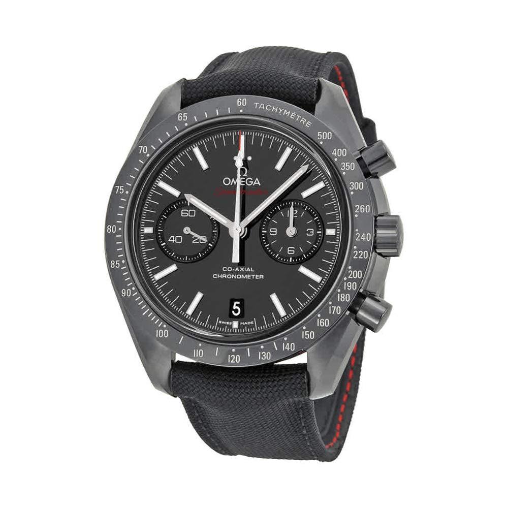 "Omega Speedmaster Moonwatch ""Dark Side of the Moon"", Black Watches, Elegant Watch, Chronometer"