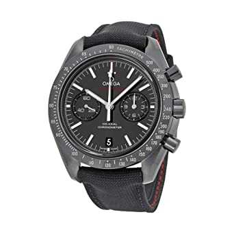Amazon Com Omega Speedmaster Co Axial Chronograph Dark Side Of The