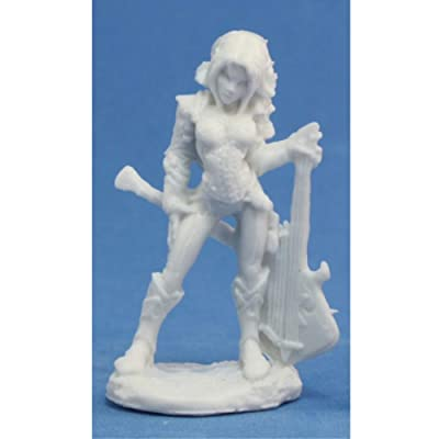 Astrid, Female Bard (1) Miniature: Toys & Games