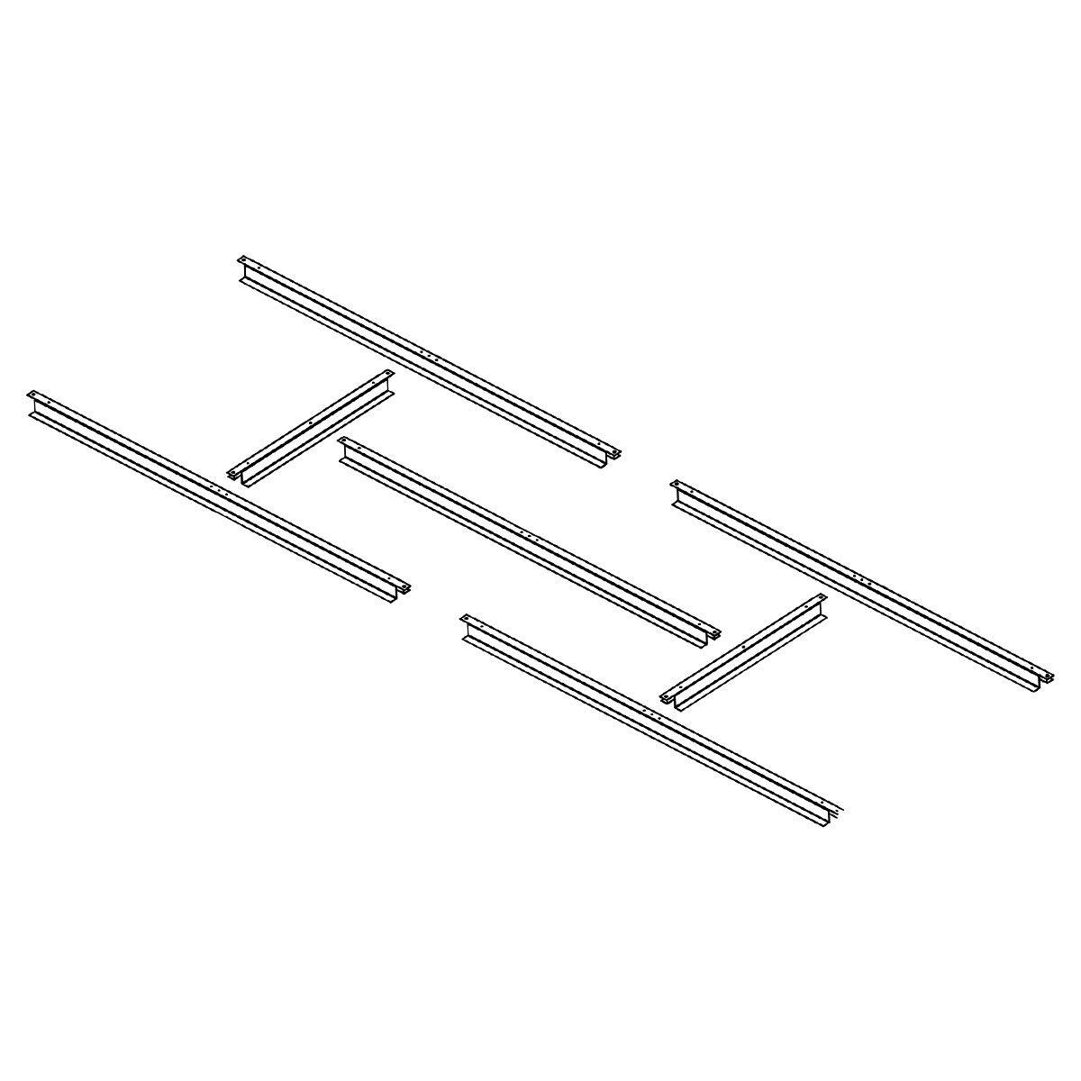 Estructura metálica Gardiun para preinstalación de suelo casetas de 2,4 m2 - KIS14005 - Gardiun: Amazon.es: Bricolaje y herramientas