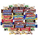 chocolate payday candy bar - Ultimate Bar Chocolate & Candy Assortment Includes Snickers, Twix, Payday, Mounds, Almond Joy, 3 Musketeer More Bulk Sampler (40 Count)