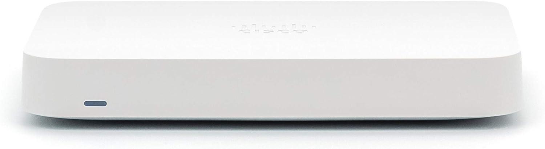 Meraki Go 5 Port Security Gateway | Cloud Managed Firewall & Router | Cisco [GX20-HW-US]