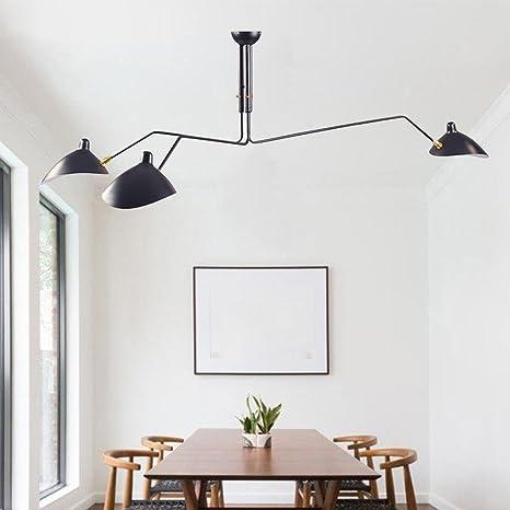 ddnl Retro Industrial - Lámpara de techo para salón ...