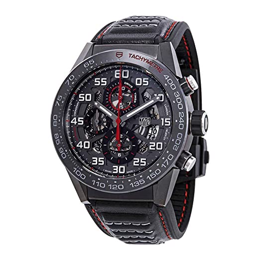 Amazon.com: Tag Heuer Carrera Chronograph Automatic Mens Watch CAR2A1H.FT6101: Watches
