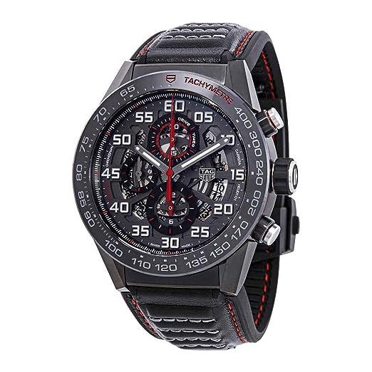 TAG Heuer Carrera Reloj de Hombre automático 45mm CAR2A1H.FT6101: Amazon.es: Relojes