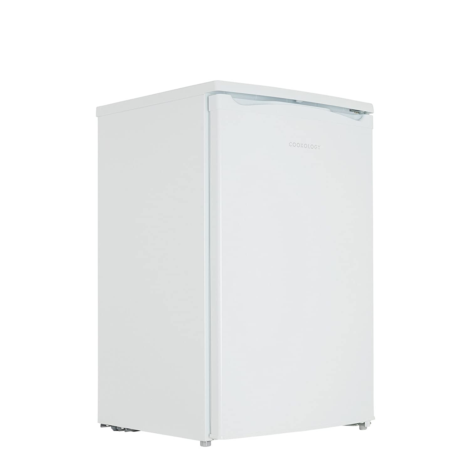 Cookology UCFZ68WH 50cm Freestanding Undercounter Freezer in White, 68 Litre [Energy Class A+]