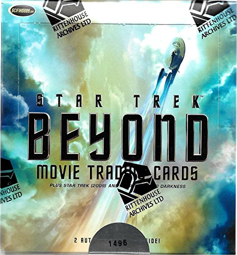 2017 Rittenhouse Archives Star Trek Beyond Movie Trading Cards Factory Sealed Box -