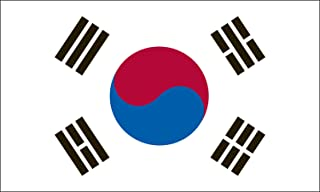 product image for Valley Forge Flag 3-Foot by 5-Foot Nylon South Korea Flag