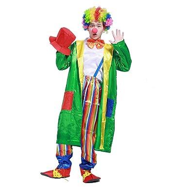 Zounghy Disfraz de Payaso de Circo de Halloween Set Traje Cosplay ...
