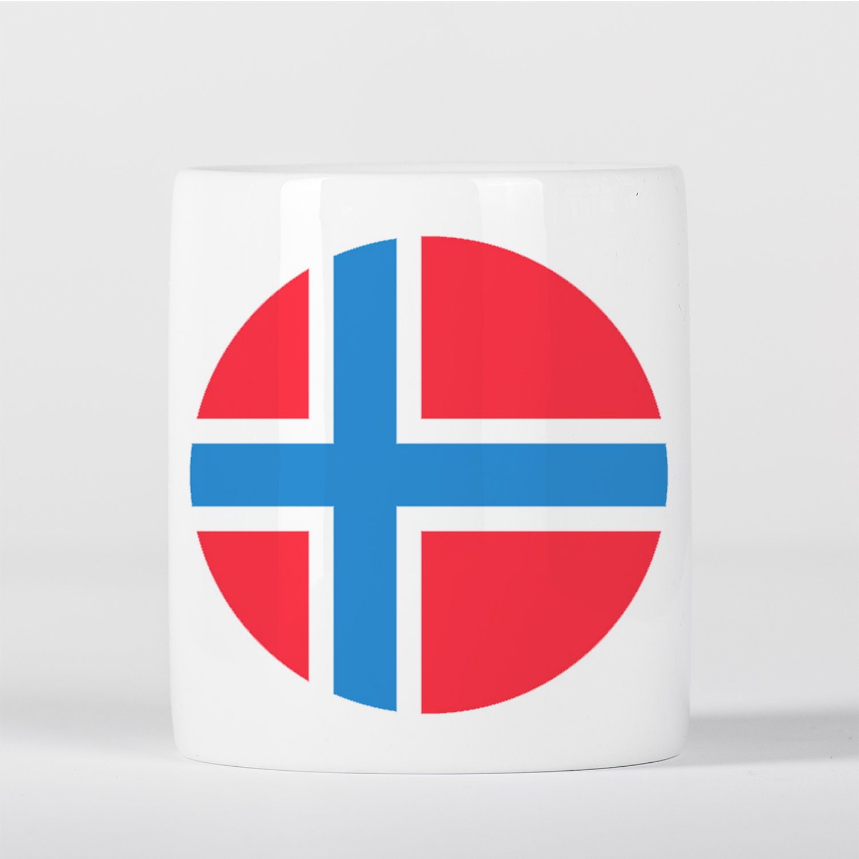Amazon.com: Bandera de Noruega Norge Norske Flagg Hucha ...