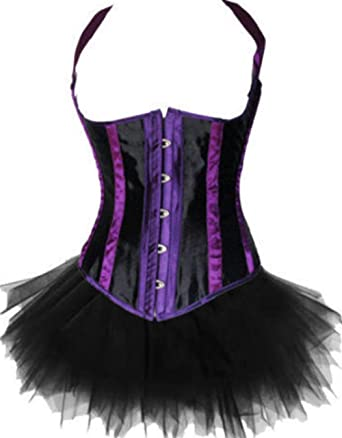 e96218953d3b1 Martya Satin Basque Boned Moulin Rouge Lingerie Fancy Dress Corset ...
