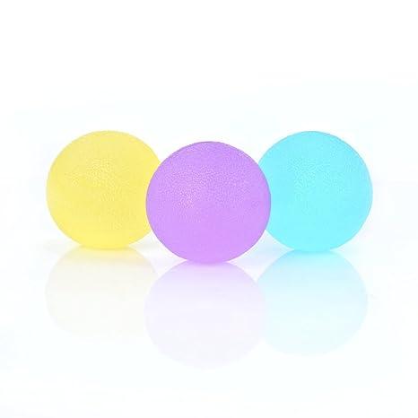 Magiin 3 Bola Antiestrés de Colores Mezclados Pelotas Anti Estrés ...