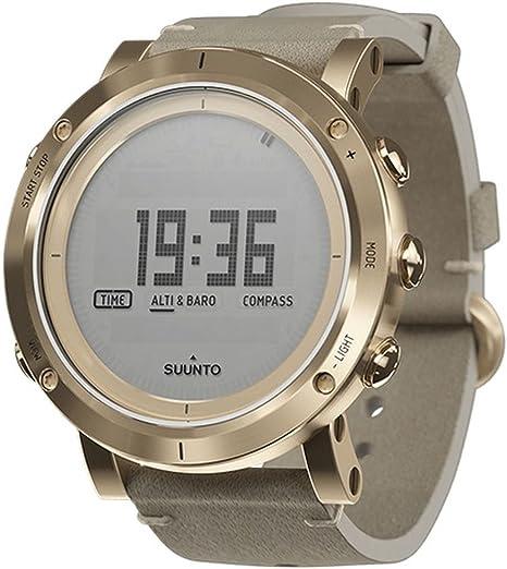 Suunto SS021214000 - Reloj de Pulsera Digital para Hombre (Cuarzo, Piel)