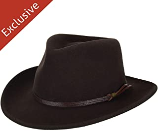 product image for Hats.com Gallivanter Outback Hat - Exclusive Brown, X-Large