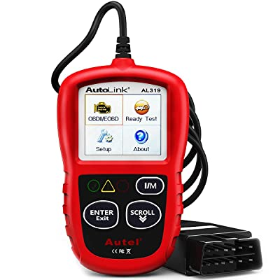 Autel AutoLink AL319 OBD2 Scanner Automotive Engine Fault Code Reader CAN Scan Tool: Automotive
