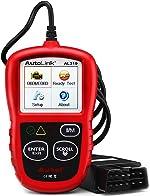 Autel AutoLink AL319 OBD2 Scanner Automotive Engine Fault Code Reader CAN