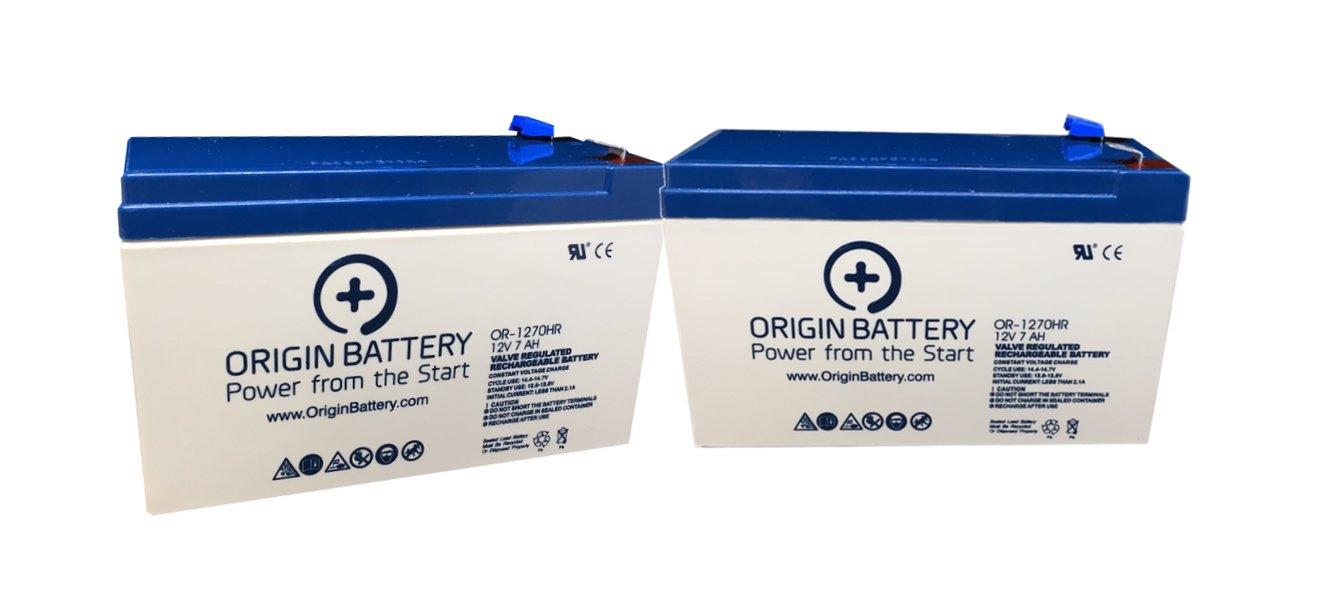 Bruno Electra-Ride LT Stairlift (SRE-2750) Battery Replacement Kit