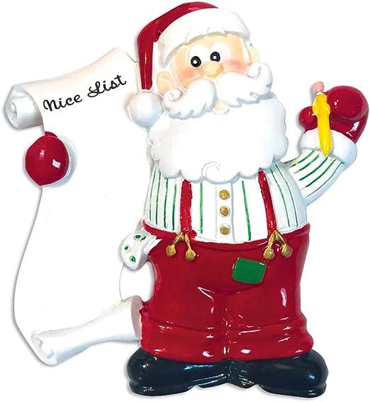 Santa Claus Driving Christmas Train with Wreath Kids Boy Girl T-Shirt