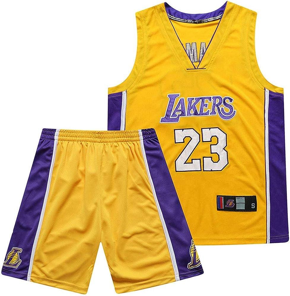 QIXUN Lakers, Uniforme de Baloncesto, 23 ° James, No. 24 Kobe ...