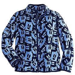 Disney Kids Mickey Mouse Fleece Jacket 2 Blue