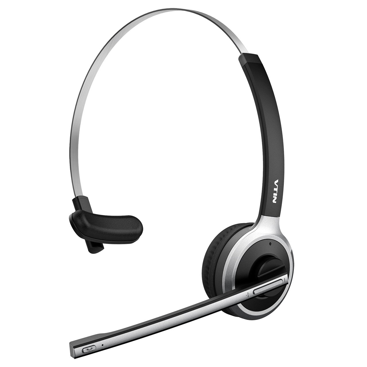 VTIN Chat Headset, Wireless Headset Bluetooth headset Headset mit Mikrofon, Freisprechfunktion, Rauschunterdrü cku, Headset on Ear, Headphone fü r PC,Computer, Handy, VoIP, Skype, Bü ro, LKW, Auto usw VTVNBH078AB-DE1