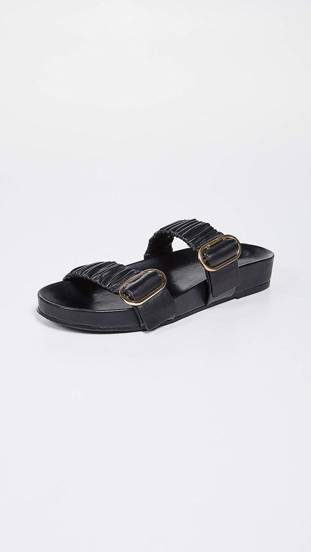 Amazon.com: Stuart Weitzman Shalene Slide - Zapatillas para ...