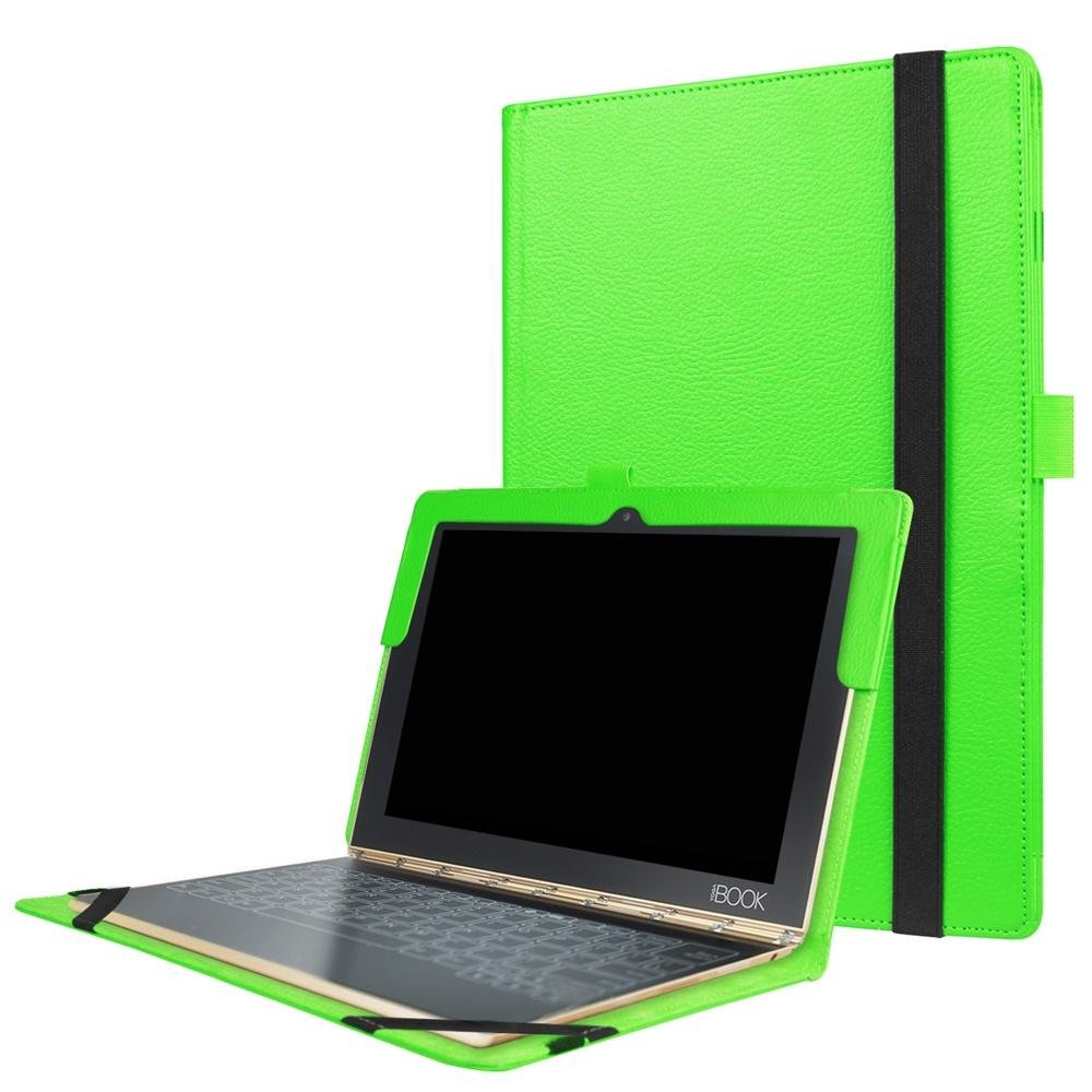 Case for Lenovo Yoga Book Android Tablet,Lenovo Yoga Book Sleeve,PU Leather Outer Cover Case for Lenovo Yoga Book Protective Case,Green